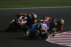 Alex Lowes, VOLTCOM Crescent Suzuki, Jordi Torres, Aprilia Racing Team and Chaz Davies, Ducati Team