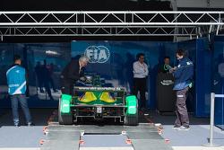 FIA inspection