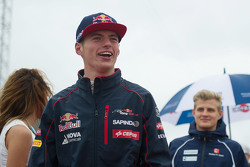 Max Verstappen, Scuderia Toro Rosso op de rijdersparade
