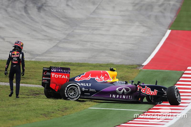 Red Bull strijdend ten onder