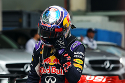 Daniel Ricciardo, Red Bull Racing en el parc ferme