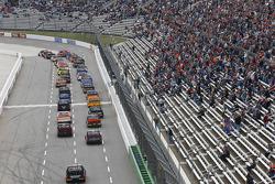 Start: Cole Custer, JR Motorsports Chevrolet leads