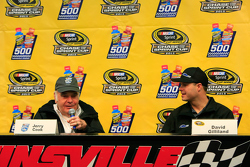 NASCAR Hall of Famer Jerry Cook and David Gilliland, Front Row Motorsports Ford