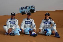 Team Trifene: Elisabete Jacinto, Alvaro Velhinho, Marco Cochinho