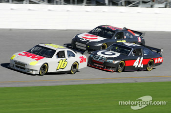 Greg Biffle, Reed Sorenson and Jeremy Mayfield