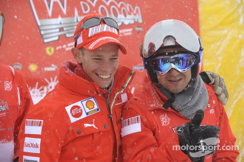 Casey Stoner and Felipe Massa