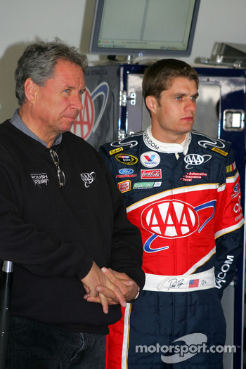 David Ragan and crew chief Jimmy Fennig