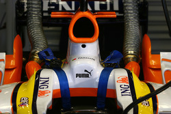 Detail of the Renault F1