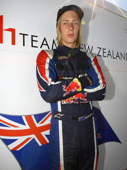 Brendon Hartley, driver of A1 Team New Zealand