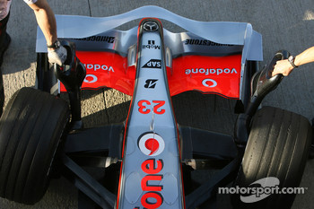 McLaren Mercedes, MP4-23, detail