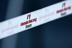 Honda Racing F1 Team barrier