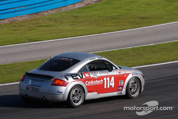 #114 GSM Motorsports Audi TT: Colin Cohen, Don Istook
