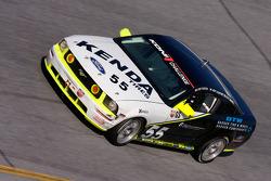 #55 Hyper Sport Ford Mustang GT: Patrick Dempsey, Joe Foster