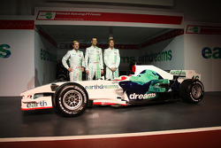 Rubens Barrichello, Honda Racing F1 Team, Alexander Wurz, Test Driver, Honda Racing F1 Team, Jenson Button, Honda Racing F1 Team
