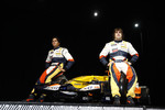 Fernando Alonso, Renault F1 Team, Nelson A. Piquet, Renault F1 Team