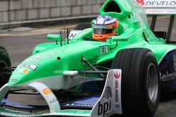 Niall Quinn, driver of A1 Team Ireland