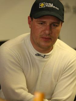 Tomas Enge, driver of A1 Team Czech Republic