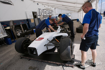 Forsythe Pettit Racing team members at work