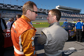 Kenny Wallace and John Andretti