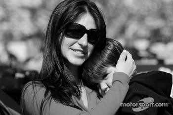 Connie Montoya with her son Sebastian