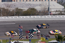 Dale Jarrett, Dale Earnhardt Jr., Brian Vickers and Greg Biffle