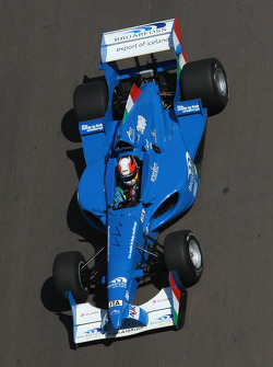 Edoardo Piscopo, driver of A1 Team Italy