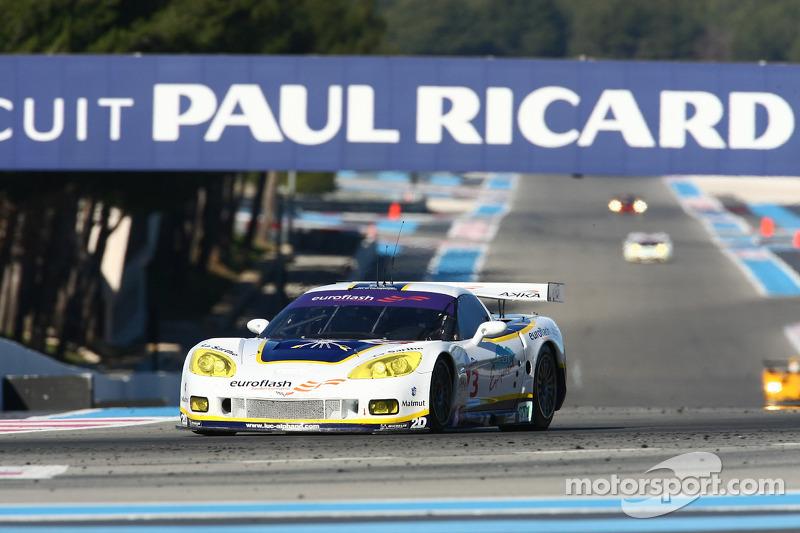 #73 Luc Alphand Aventures Corvette C6.R: Roland Berville, Jean-Luc Blanchemain, Sébastien Dumez