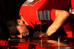 Scuderia Ferrari mechanic
