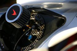 McLaren refueling system detail