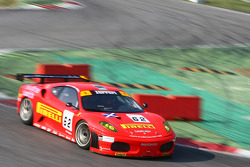 #62 Scuderia Ecosse Ferrari 430 GT2: Fabio Babini, Jamie Davies