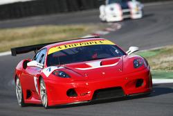 JMB Racing Ferrari 430: Johan Rambeaud, Robert Hissom, Andrea Garbagnati
