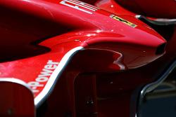 Ferrari F2008 front wing detail