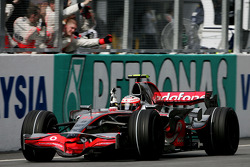 Third place Heikki Kovalainen