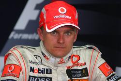 Press conference: third place Heikki Kovalainen