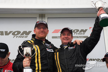 GT3 podium Ferrier and Morley take victory