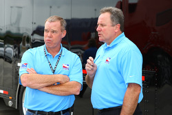 Al Unser Jr. and Brian Barnhart