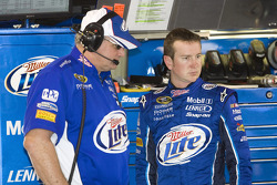 Kurt Busch and Pat Tryson