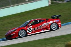 #55 Level 5 Motorsports Ferrari 430 Challenge: Scott Tucker, Ed Zabinski