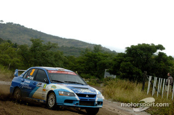 Amjad Farrah and Nicola Arena, Mitsubishi Lancer Evolution IX