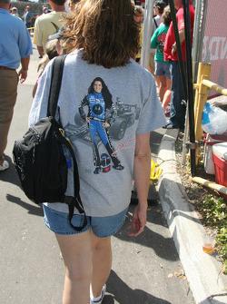 A fan of Danica Patrick