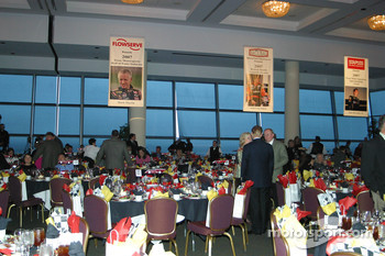 Hall of Fame Banquet: Banquet Hall at the Texas Motor Speedway Club