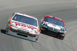 Joe Nemechek and Robby Gordon