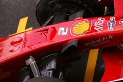 Ferrari F2008 radical new front nose