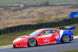 GT3 CR Scuderia Ferrari 430 exiting Scotsman