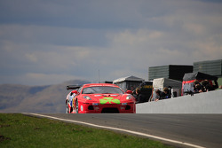 Christians in Motorsport Ferrari 430 on start finish straight