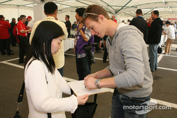 Honda Welcome Party: Ryan Briscoe