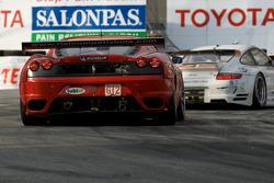 #61 Risi Competizione Ferrari F430 GT: Harrison Brix, Patrick Friesacher