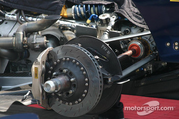Champ Car brake system detail