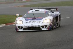 #7 Larbre Compétition Saleen S7-R: Vincent Vosse, Greg Franchi