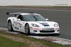 #1 Martini Callaway Racing Corvette Z06: James Ruffier, Arnaud Peyroles